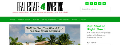 Featured Client: Real Estate Investing