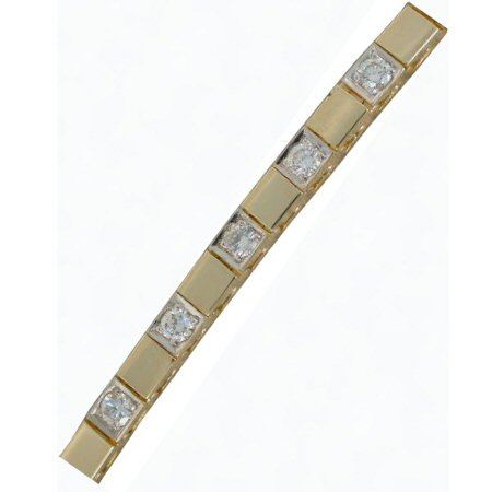 Gold In Art diamond bracelet