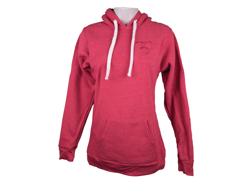 30 Knots Heavy Pullover Red 3 Kites Womens