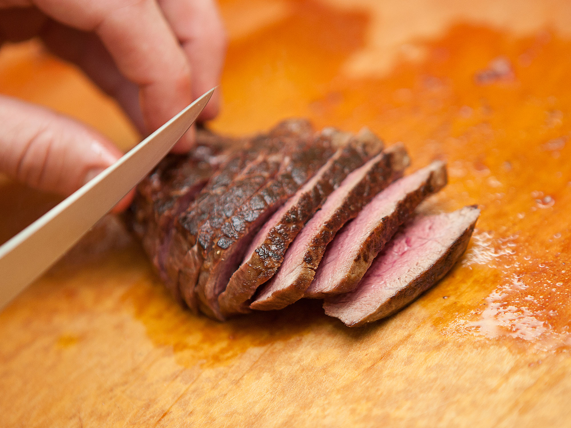 Cutting Meat Produced by Emerson Cattle Company