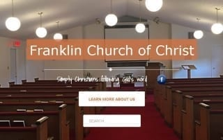 Featured Client: Franklin Church of Christ