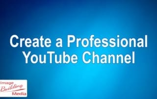 webinar, video on how to create a YouTube channel