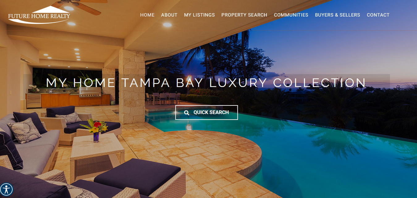 My Home Tampa Bay website